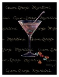 Gum Drop Martini Prints by Janet Kruskamp