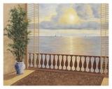 Ocean Villa Posters by Diane Romanello