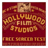 Hollywood Film Studios Print van Bruce Jope