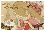 Paris Posters af Maria Woods