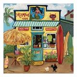 Mermaid Cafe Affiches par Suzanne Etienne