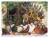 Bounteous Table Prints by Suzanne Etienne
