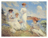 Summer Prints by Frank Weston Benson
