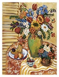Int&#233;rieur proven&#231;al I Poster par Suzanne Etienne