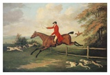 Fox Hunting Scene Prints by J.N. Sartorius