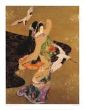 Dance of the Cranes Affiches par Haruyo Morita