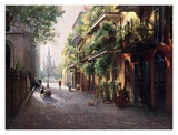 French Quarter Print by Lidia Dynner
