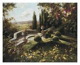 Mystic Garden I Print by  Gabriela