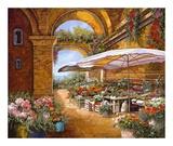 Il Mercato Sotto il Portici Art by  Furtesen