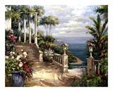 Classic Terrace View Affiches par  Paline