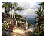 Classic Terrace View Prints by  Paline