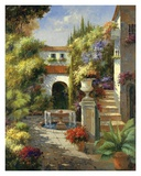 Fontana di Cortile Posters by  Harvey