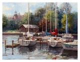 The Village Dock Prints by  Furtesen
