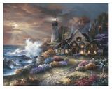 Gardien de phare Affiche par James Lee