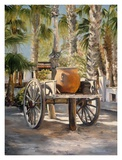 Water Wagon Prints by Mary Schaefer