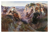 The Wild Horse Hunters Posters by Charles Marion Russell