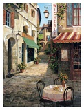 Cafe Le Flore Print by Vladimir 