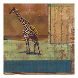 Serengeti Giraffe Kunst af Fischer & Warnica