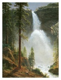 Nevada Falls Poster by Albert Bierstadt