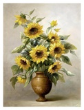 Sunflowers in Bronze I Art by Welby