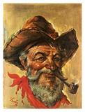 Tombstone Pete Prints by Endre Szabo