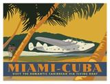 Miami to Cuba Plakater af David Grandin