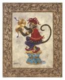 Monkey with Cymbals Reprodukcje autor Janet Kruskamp