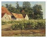 Chateaux du Buxy Prints by Leonard Wren