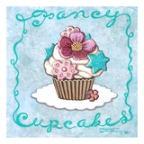 Fancy Cupcakes Posters by Janet Kruskamp