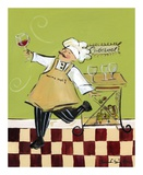 Wine Chef Cabernet Prints by Jennifer Sosik