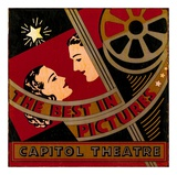 The Best in Pictures Poster by Bruce Jope
