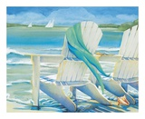 Seaside Breeze Posters by Kathleen Denis