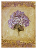 Hydrangea Violeta Print by Shari White