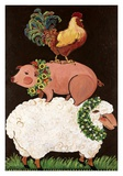 Barnyard Friends Affiche par Suzanne Etienne