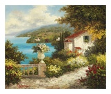 Casa del Mare Print by Lazzara 