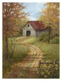 Roadside Barn Poster von Lene Alston Casey