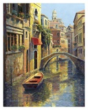 Reflections of Venice Prints by Haixia Liu