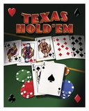 Texas Hold &#39;Em Posters by Mike Patrick