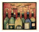 Cork Screws and Wine Prints by Susan Winget