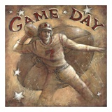 Game Day Affiches par Janet Kruskamp
