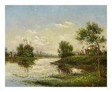 Riviere et Village Prints by  Willard