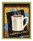 Cappuccino Poster by Betty Whiteaker