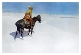 The Scout: Friends or Enemies Prints by Frederic Remington