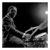 Art Blakey I Poster by Lee Tanner
