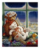 Molly and Sugar Bear Posters by Janet Kruskamp