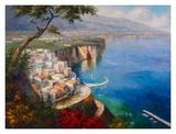 Monterosso Coast Art by  Gasini