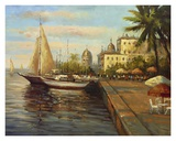 Santo Domingo Harbor Prints by Enrique Bolo