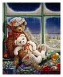 Molly and Sugar Bear Prints by Janet Kruskamp