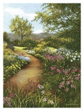 Hilltop Garden Poster by Lene Alston Casey
