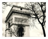 Arc de Triumphe Print by Judy Mandolf